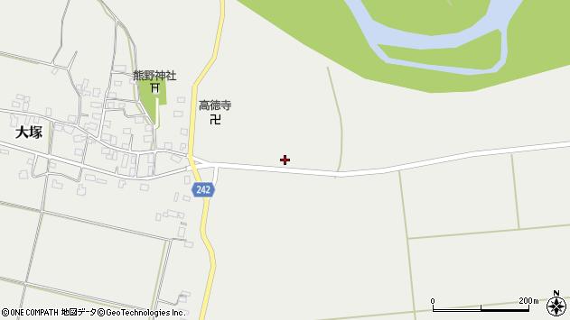 山形県東置賜郡川西町大塚1587周辺の地図