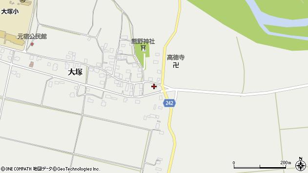 山形県東置賜郡川西町大塚1532周辺の地図