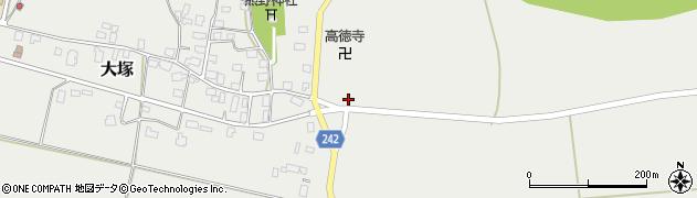 山形県東置賜郡川西町大塚1555周辺の地図