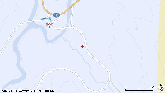 山形県西置賜郡小国町綱木箱口298周辺の地図