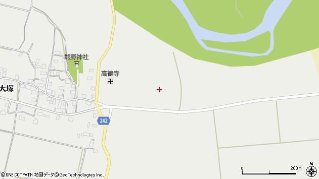 山形県東置賜郡川西町大塚1605周辺の地図