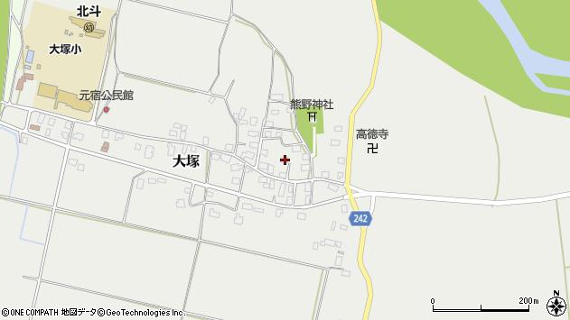 山形県東置賜郡川西町大塚2206周辺の地図