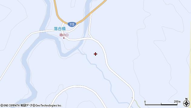 山形県西置賜郡小国町綱木箱口301周辺の地図