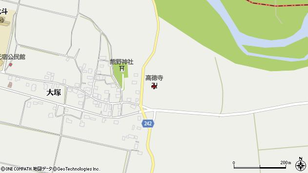 山形県東置賜郡川西町大塚1554周辺の地図