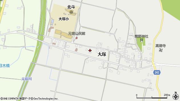 山形県東置賜郡川西町大塚2351周辺の地図