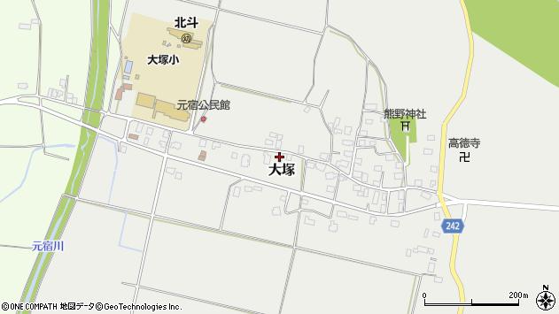 山形県東置賜郡川西町大塚2153周辺の地図