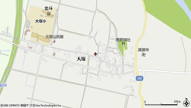 山形県東置賜郡川西町大塚2193周辺の地図