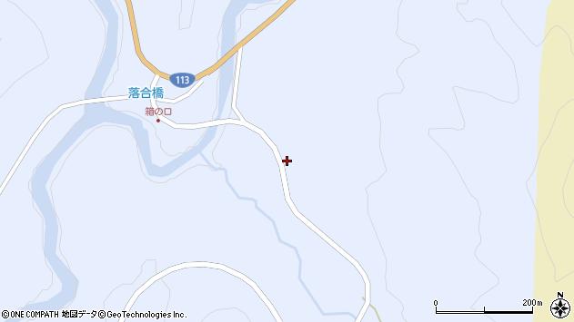 山形県西置賜郡小国町綱木箱口283周辺の地図