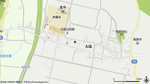 山形県東置賜郡川西町大塚2354周辺の地図