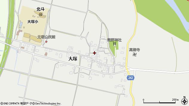 山形県東置賜郡川西町大塚2173周辺の地図