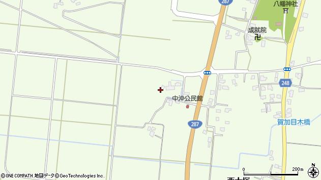 山形県東置賜郡川西町西大塚670周辺の地図
