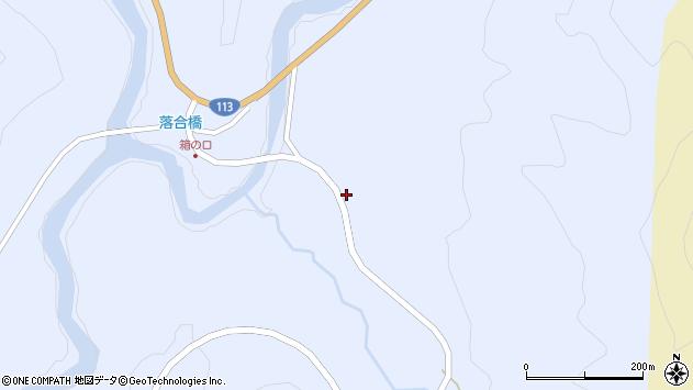 山形県西置賜郡小国町綱木箱口284周辺の地図