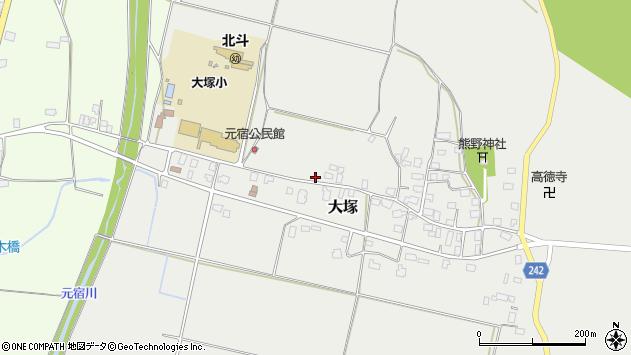 山形県東置賜郡川西町大塚2163周辺の地図