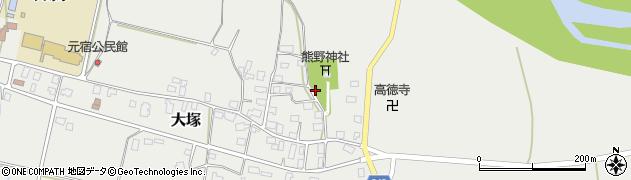 山形県東置賜郡川西町大塚2223周辺の地図