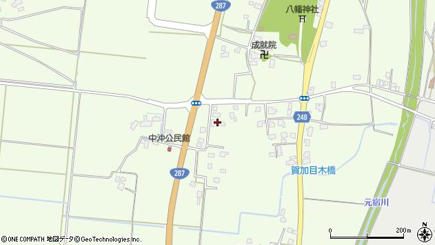 山形県東置賜郡川西町西大塚530周辺の地図