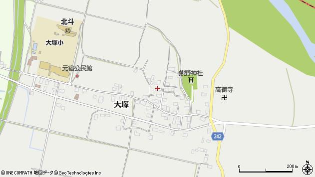 山形県東置賜郡川西町大塚2174周辺の地図