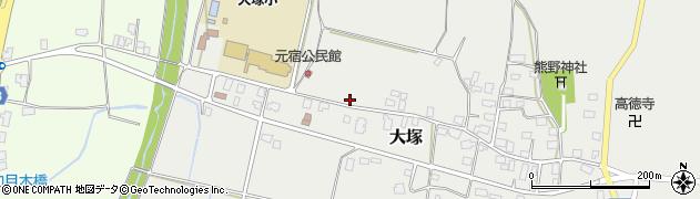 山形県東置賜郡川西町大塚2165周辺の地図