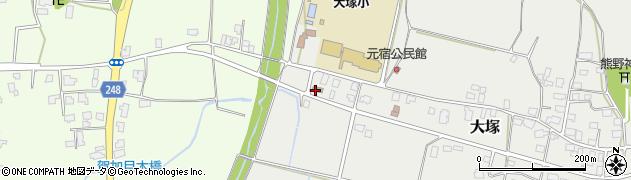 山形県東置賜郡川西町大塚3047周辺の地図