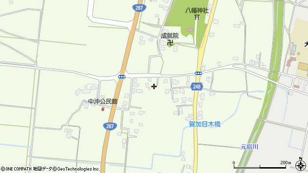 山形県東置賜郡川西町西大塚528周辺の地図
