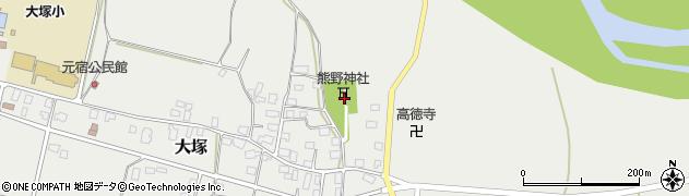 山形県東置賜郡川西町大塚3400周辺の地図