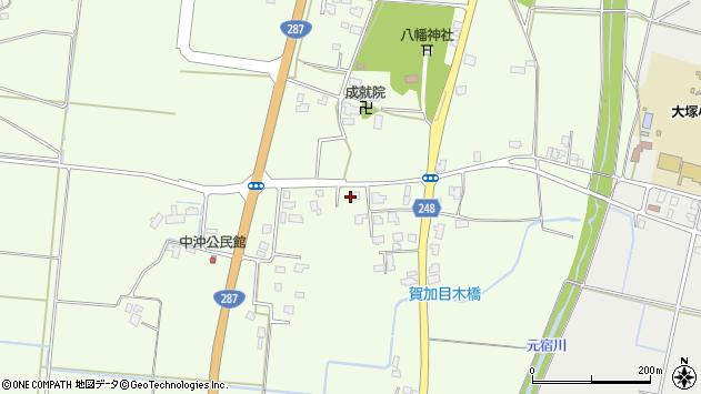 山形県東置賜郡川西町西大塚542周辺の地図