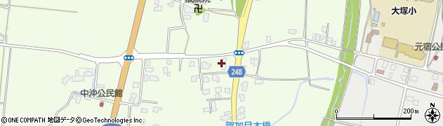 山形県東置賜郡川西町西大塚411周辺の地図