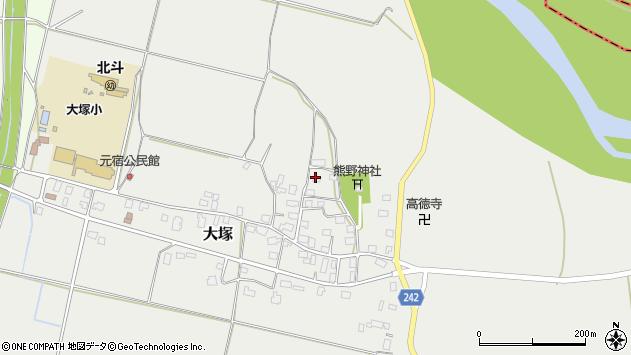 山形県東置賜郡川西町大塚2215周辺の地図