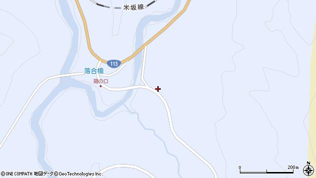 山形県西置賜郡小国町綱木箱口288周辺の地図