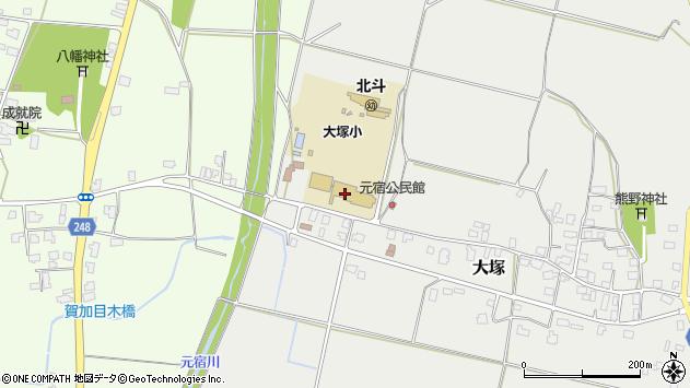 山形県東置賜郡川西町大塚3030周辺の地図