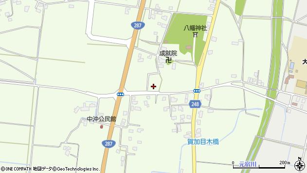 山形県東置賜郡川西町西大塚554周辺の地図