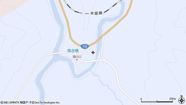 山形県西置賜郡小国町綱木箱口445周辺の地図