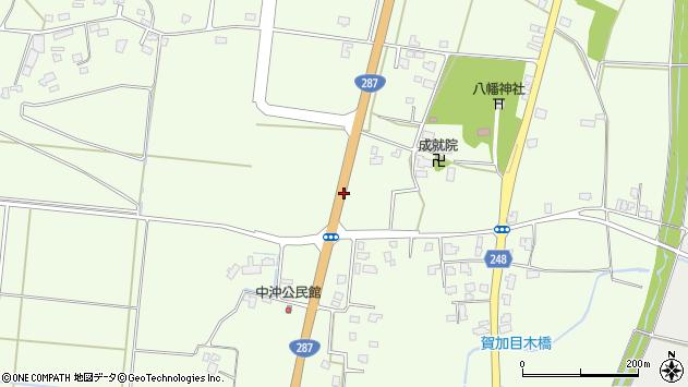 山形県東置賜郡川西町西大塚八幡西周辺の地図