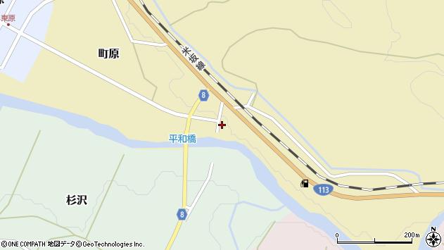 山形県西置賜郡小国町町原123周辺の地図