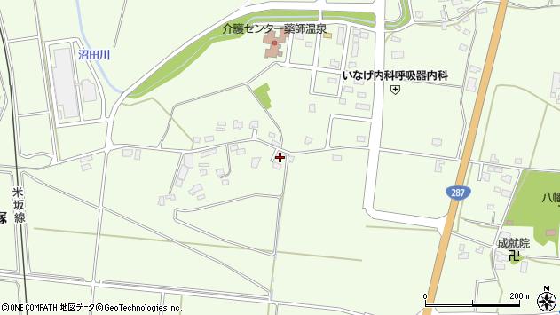 山形県東置賜郡川西町西大塚1415周辺の地図