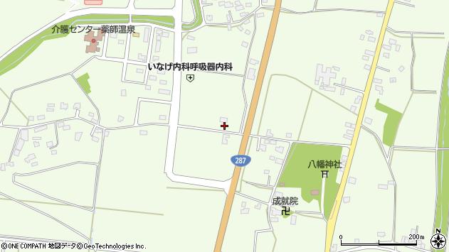 山形県東置賜郡川西町西大塚1391周辺の地図