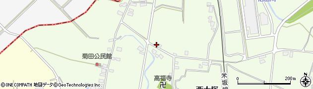 山形県東置賜郡川西町西大塚1168周辺の地図