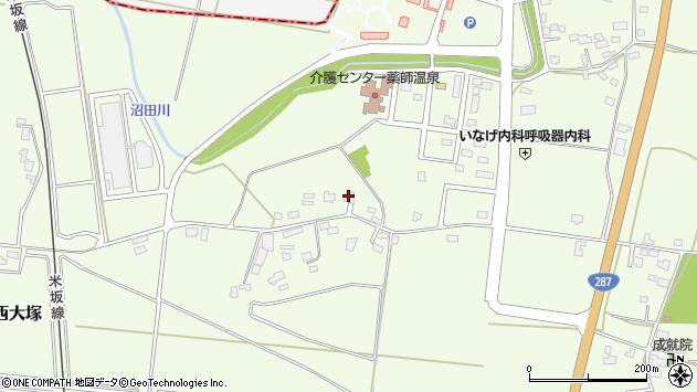 山形県東置賜郡川西町西大塚1542周辺の地図