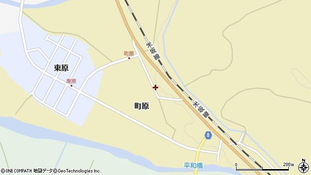 山形県西置賜郡小国町町原256周辺の地図