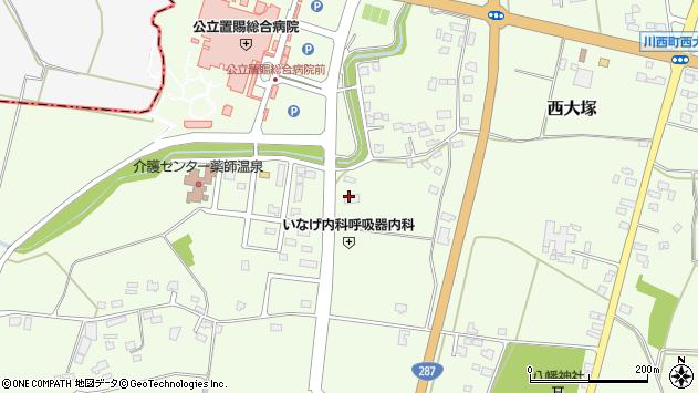 山形県東置賜郡川西町西大塚1623周辺の地図