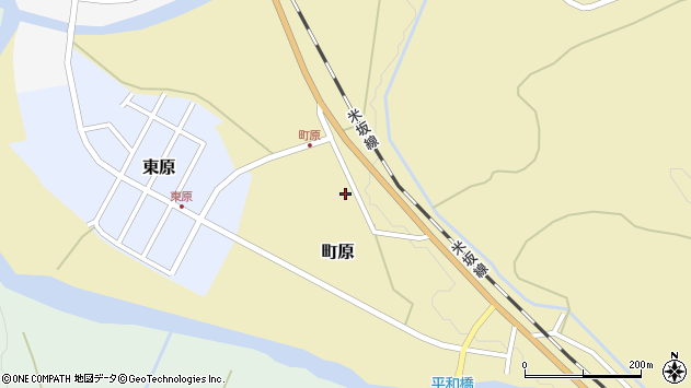 山形県西置賜郡小国町町原325周辺の地図
