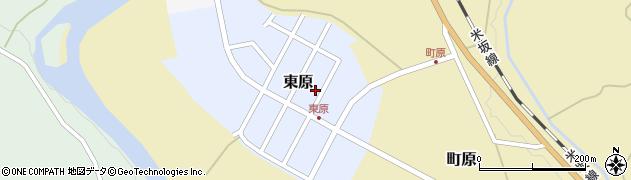 山形県西置賜郡小国町東原9周辺の地図