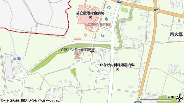 山形県東置賜郡川西町西大塚1371周辺の地図