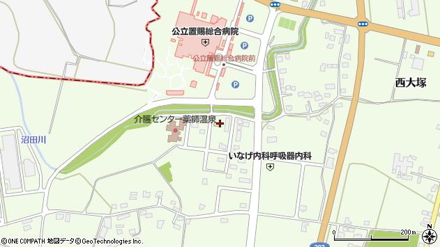 山形県東置賜郡川西町西大塚1374周辺の地図