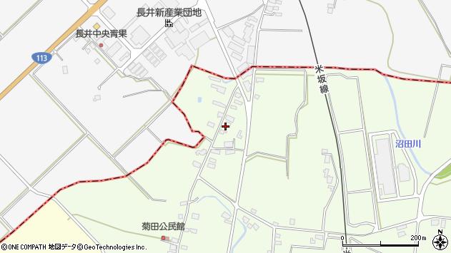 山形県東置賜郡川西町西大塚1265周辺の地図