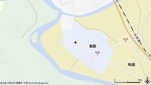 山形県西置賜郡小国町東原18周辺の地図