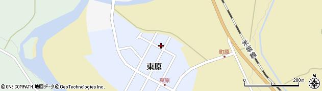山形県西置賜郡小国町東原6周辺の地図
