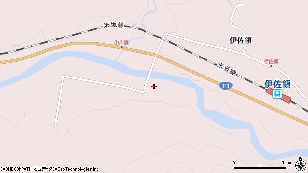 山形県西置賜郡小国町伊佐領264周辺の地図