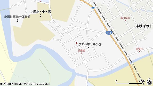 山形県西置賜郡小国町兵庫舘周辺の地図