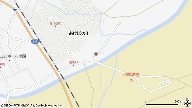 山形県西置賜郡小国町岩井沢132周辺の地図