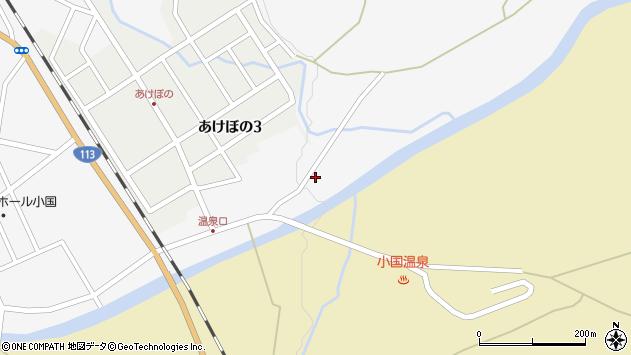 山形県西置賜郡小国町岩井沢136周辺の地図